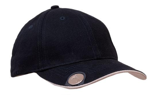 41ceae41 Brushed Heavy Cotton with Magnetic Ball Marker on Peak - in2sports